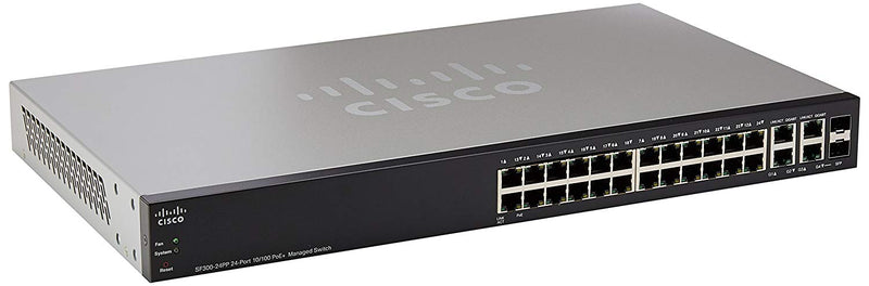 Cisco SF300-24PP 24-Port 10/100 PoE Managed Switch