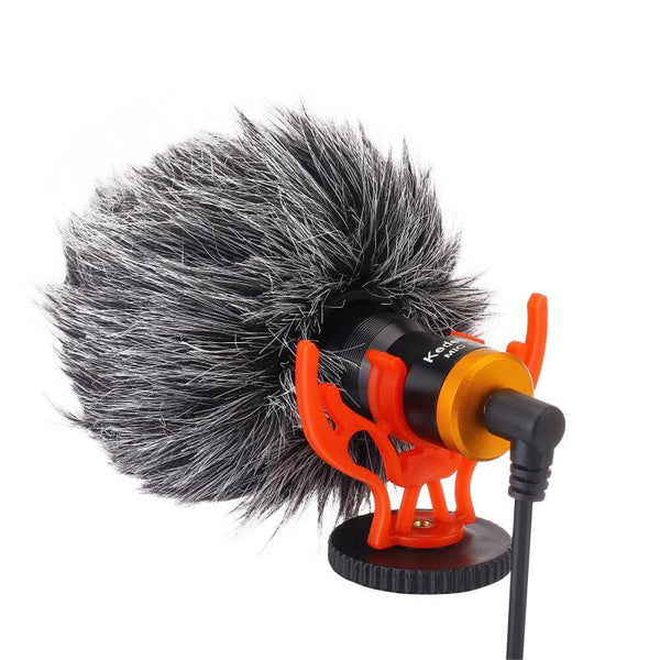 Kedebao Mic-1 Universal Cardioid Microphone Mini Shotgun for Camera & Smartphone