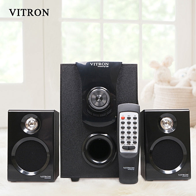 Vitron V411D BLUETOOTH/USB/SD/FM 4500W-BLACK WITH 2SPEAKERS