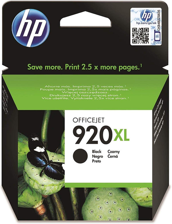 HP 122XL Extra Large Original Black Ink Print Cartridge, CH563HE
