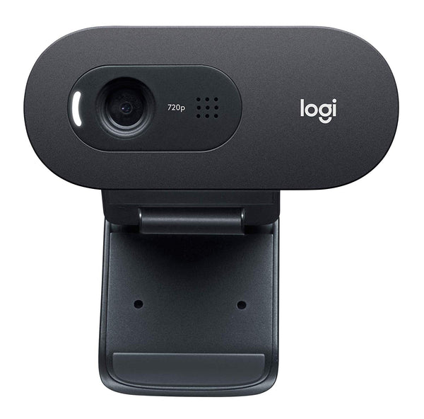 Logitech C270 HD 720p webcam for desktop and laptop