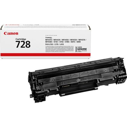 Canon 728 Black Original Toner Cartridge