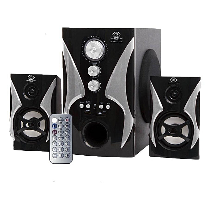 Dream Sound D-5230 2.1 Channel Bluetooth Home Theater System