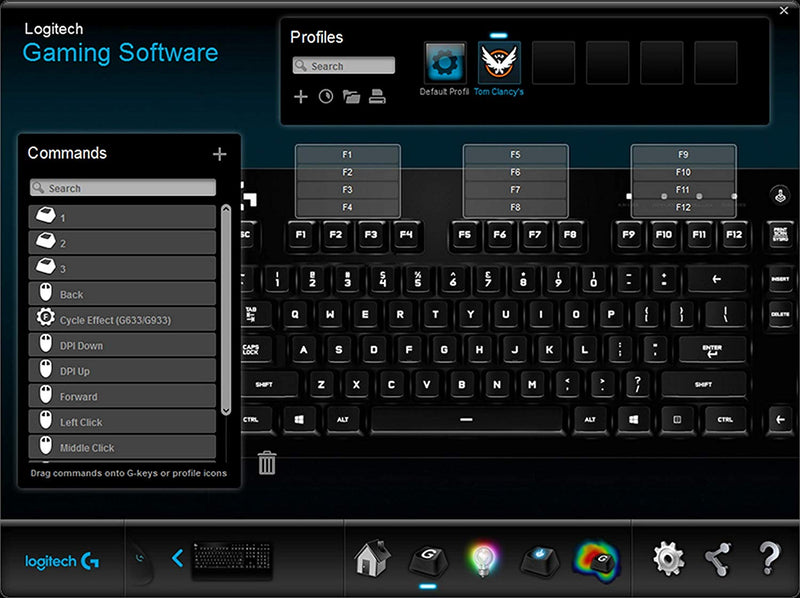 Logitech G213 Prodigy Wired Gaming Keyboard with Media Controls and Backlit  Keys