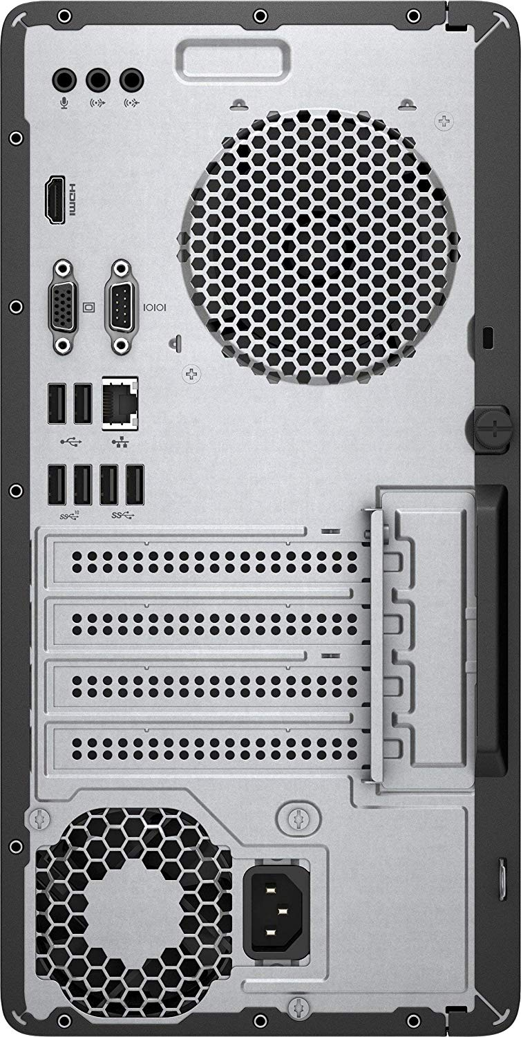 HP 290 G2 Microtower PC(4NU59EA) Desktop - Intel Core i3, 4GB RAM, 1TB Hard Disk, DVDRE, 18.5 Inch V197 Monitor