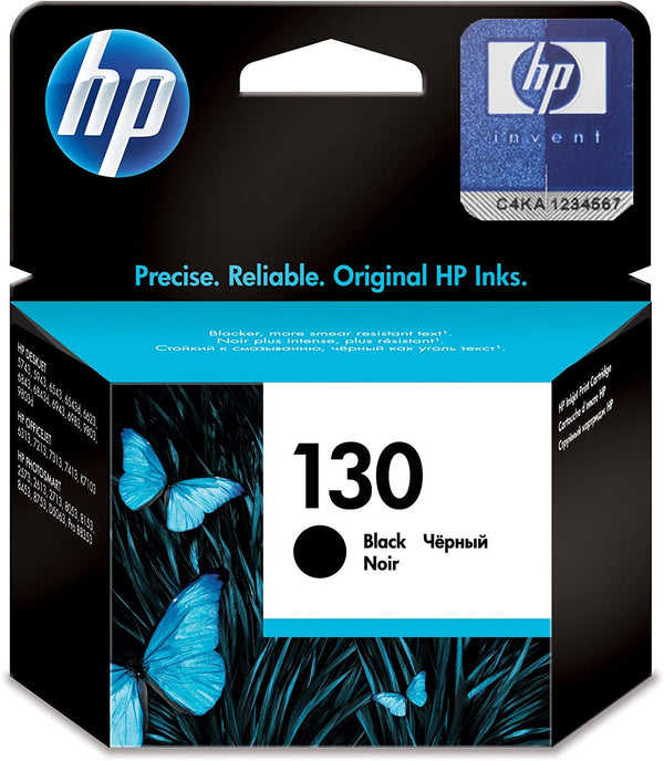 HP 130 Black Original Ink Cartridge,C8767HE