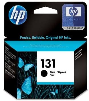HP 131 Black Original Ink Cartridge, C8765HE