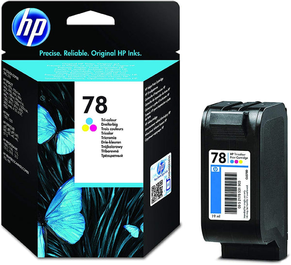 HP 78 Tri-color Original Ink Cartridge (C6578D)