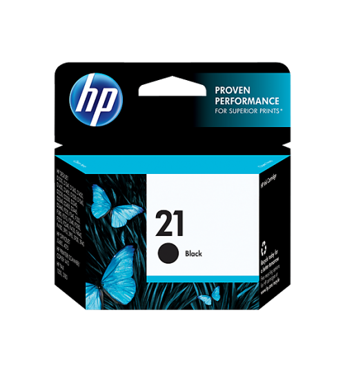 HP 21 Black Ink Cartridge-C9351AE