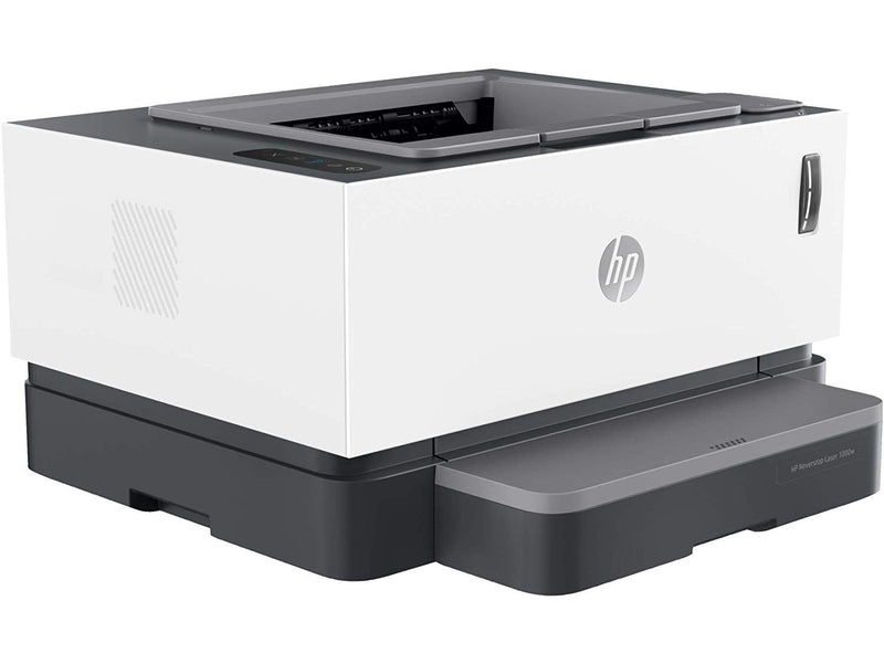 HP Neverstop Laser 1000W - Wireless Mono Printer - 4RY23A, Single Function(Print Only)