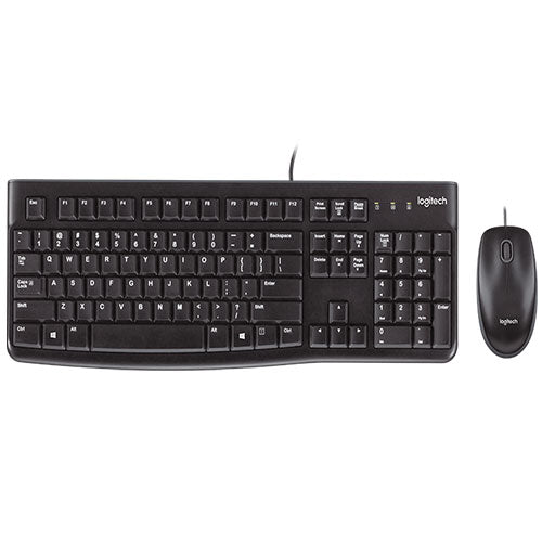 Logitech MK120 Keyboard and Mouse combo - USB wired