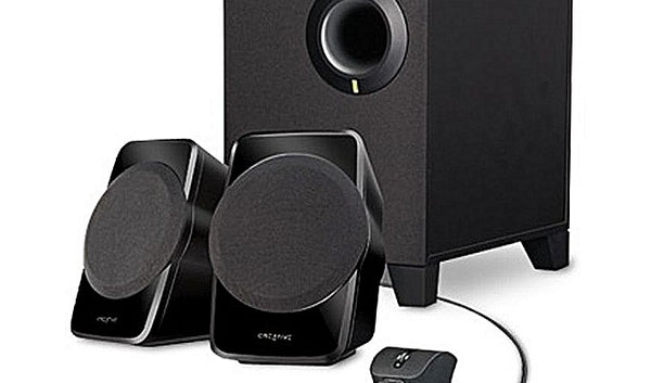 Creative SBS A120 - 2.1Ch PC Multimedia Speakers with Subwoofer