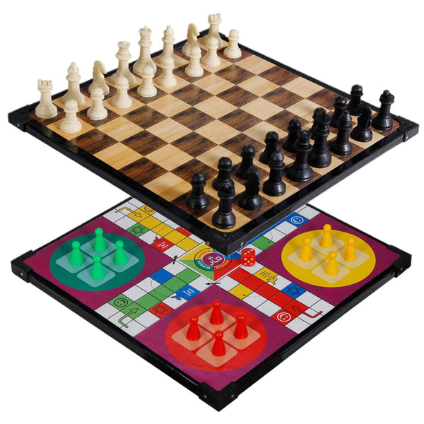 2in1 Ludo and Chess Board Game