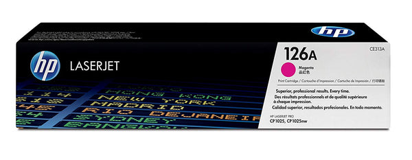 HP 126A Magenta Original LaserJet Toner Cartridge(CE313A)