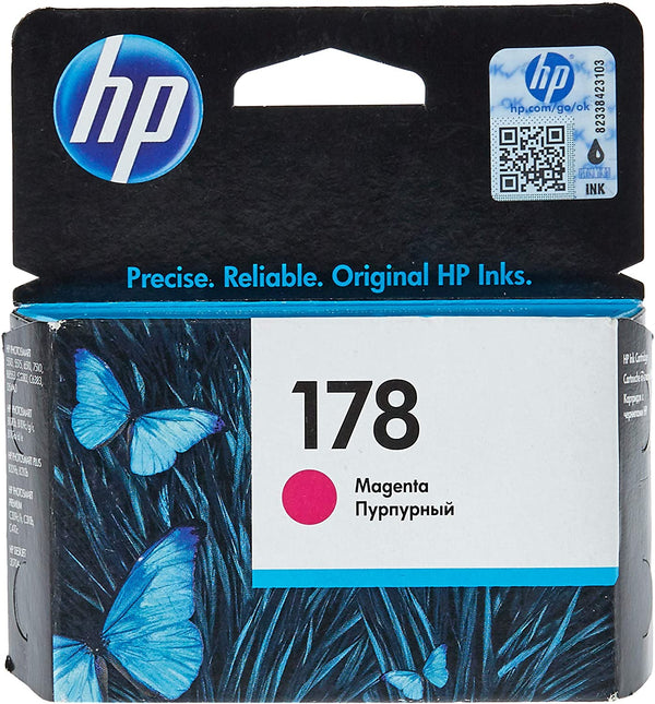 HP 178 Magenta Original Ink Cartridge,CB319HE
