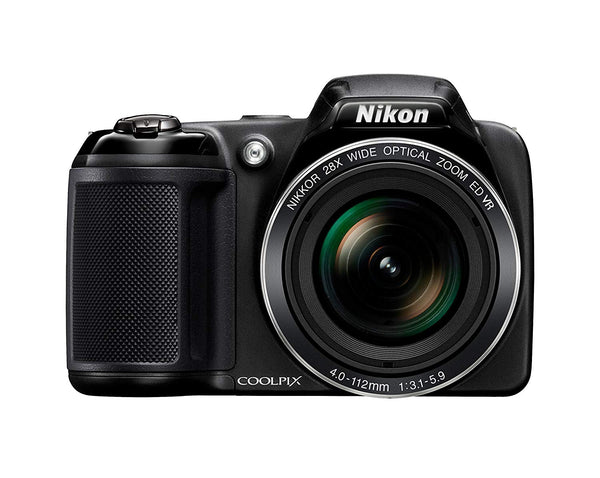 Nikon Coolpix L340 20.2 MP Digital Camera with 28x Optical Zoom and 3.0-Inch LCD