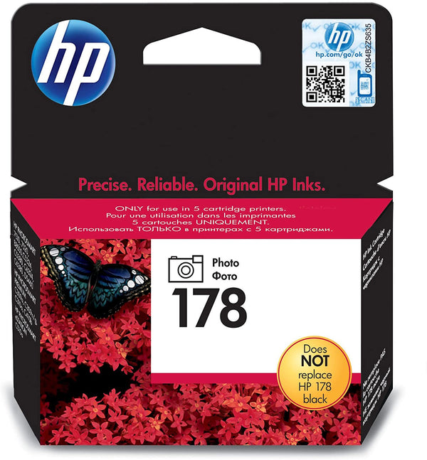 HP 178 Photo Original Ink Cartridge, CB317HE