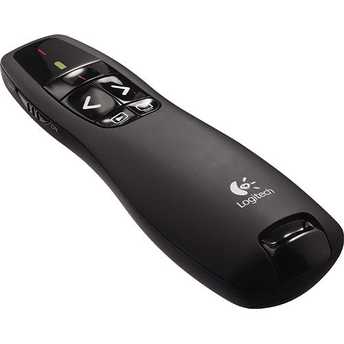 Logitech R400 Wireless Laser Presentation Remote (910-001356)