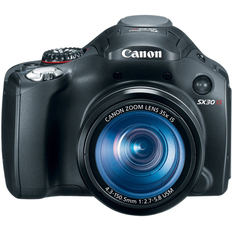 Canon SX30IS 14.1MP Digital Camera with 35x Wide Angle Optical Image Stabilized Zoom and 2.7 Inch Wide LCD