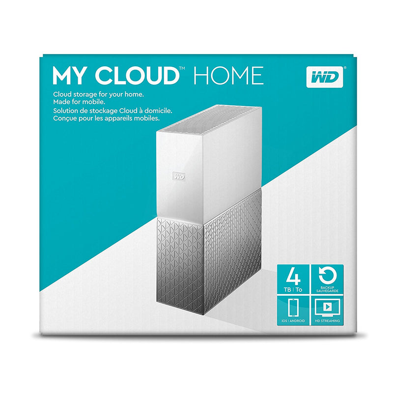 WD 4TB My Cloud Home Personal Cloud NAS Storage
