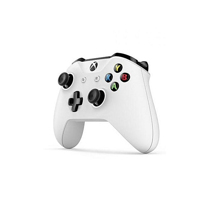 Microsoft XBOX One S with two controllers