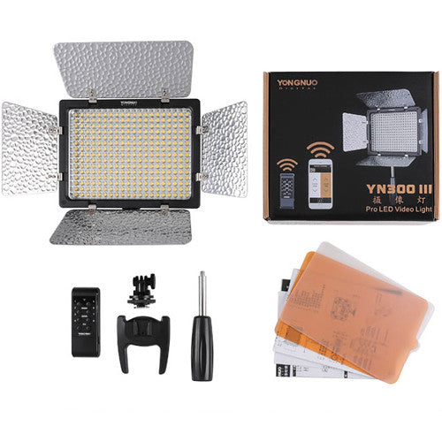 Yongnuo YN-300-III LED Variable-Color On-Camera Light