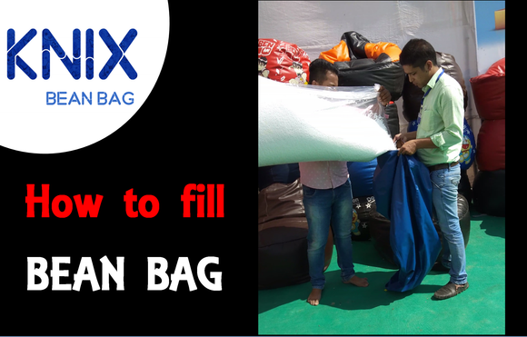 How to Fill Bean Bag cover at home.