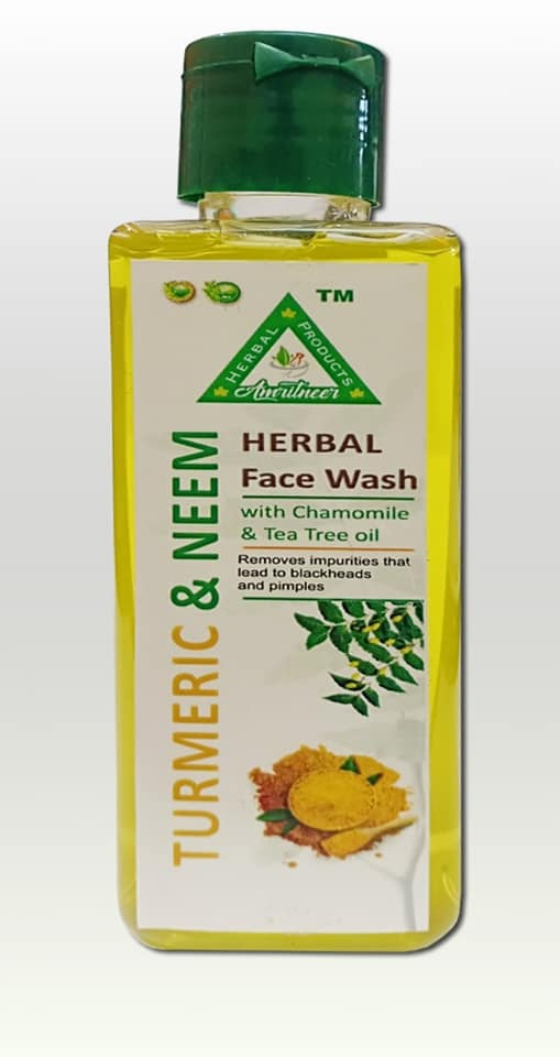 Herbal turmeric & neem Face wash