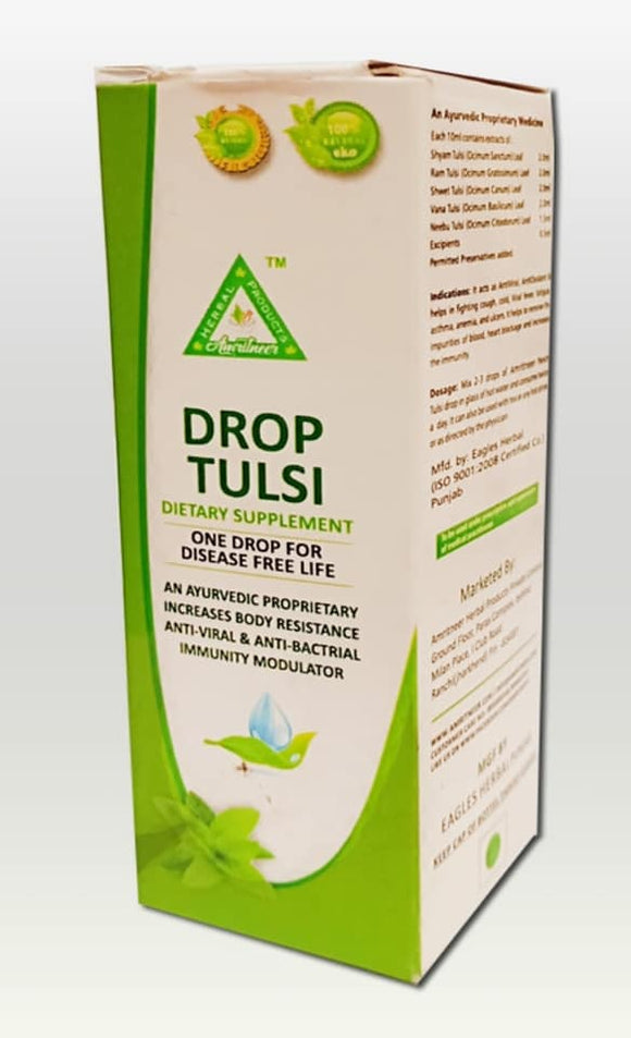 Skin Detox Herbal Tulsi drops for Health