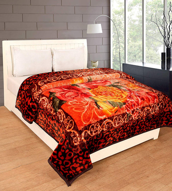 Single Bed Mink Blanket for Winters (ASSORTED PRINTED) - Knix Bean Bag