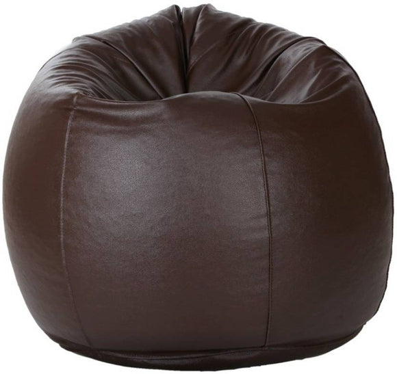 Best Gift For Adults | Best Filled Bean Bag | XXXL Bean Bag Of Brown Color