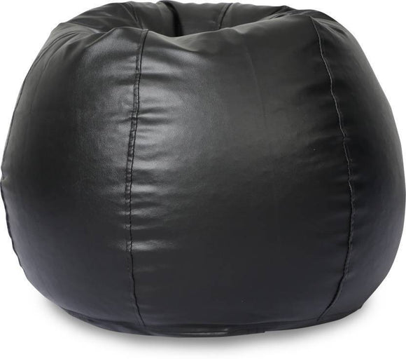 Best Bean Bag By Knix | Black Bean Bag | XXL Filled Bean Bag