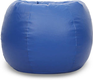 Buy Filled Bean Bag | XXXL Filled Bean Bag By Knix | Blue Bean Bag
