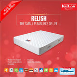 Kurl-on RELISH mattress . 6 inches | SPRING MATTRESS