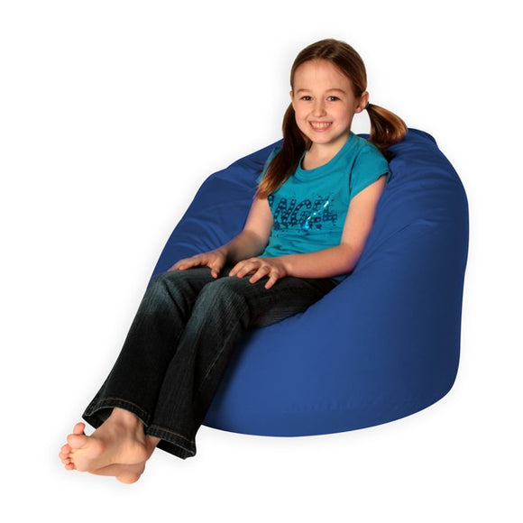 Blue Bean Bag Cover
