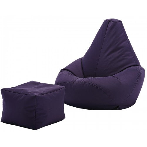 XXL Bean Bag with Footrest | Best Bean Bags in India | Filled Bean Bag