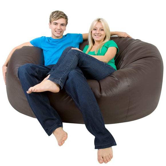 Knix Jumbo Bean Bag | Brown | COVER ONLY (without beans) - Knix Bean Bag