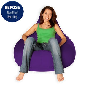 Purple Bean Bag Cover