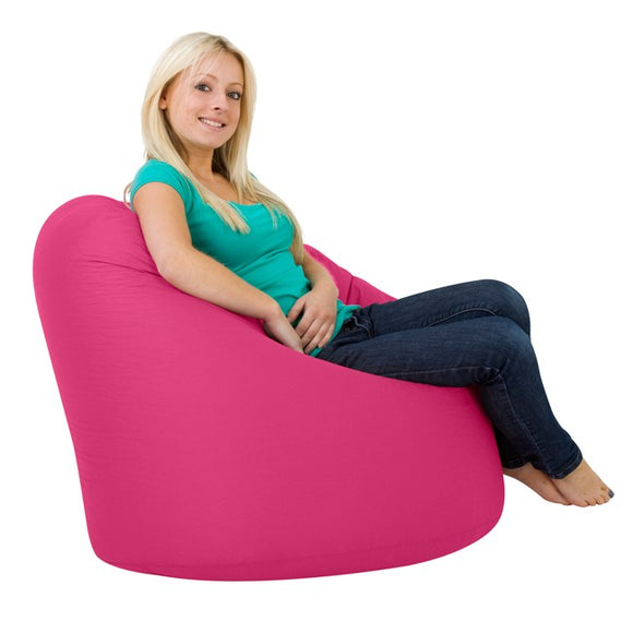 XXL Pink Filled Bean Bag | Knix Bean Bag