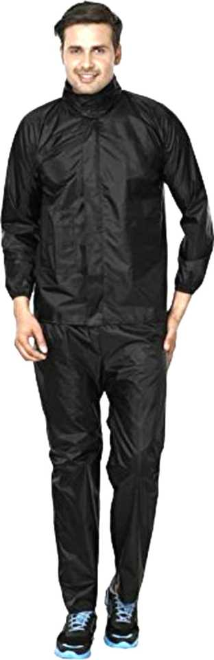 TRC Men's Raincoat (black)