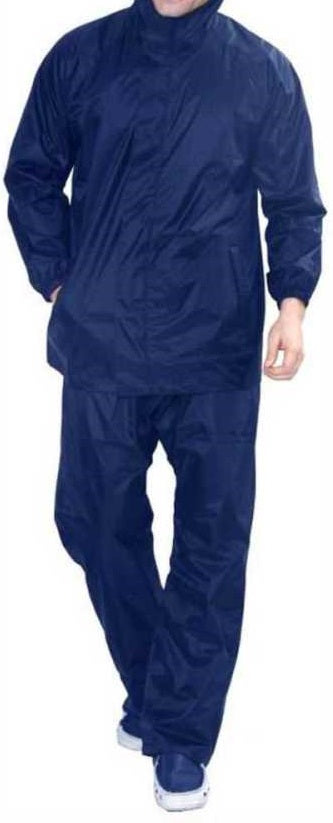 TRC Men's Raincoat (blue)