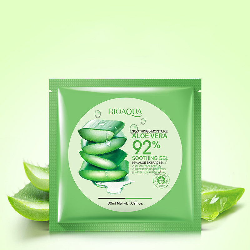 Natural Aloe Vera Gel Face Mask Skin Care