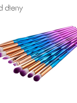 Makeup Brush Rainbow Makeup Brushes