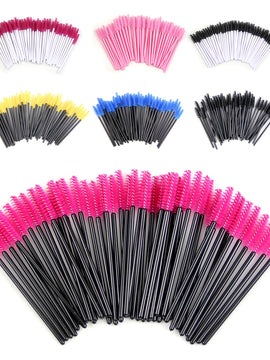 Eyelash brushes Makeup brushes Disposable