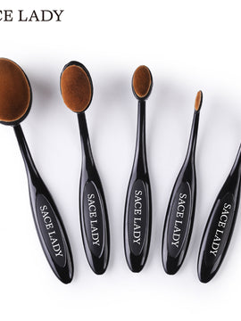 Makeup Brushes Set Foundation Toothbrush