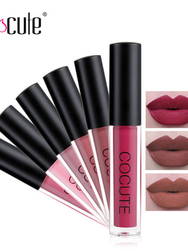 Cocute Matte Lipstick Waterproof Makeup