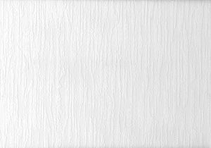 Berz Paintable Plaster Texture Wallpaper-white plaster distressed textured design