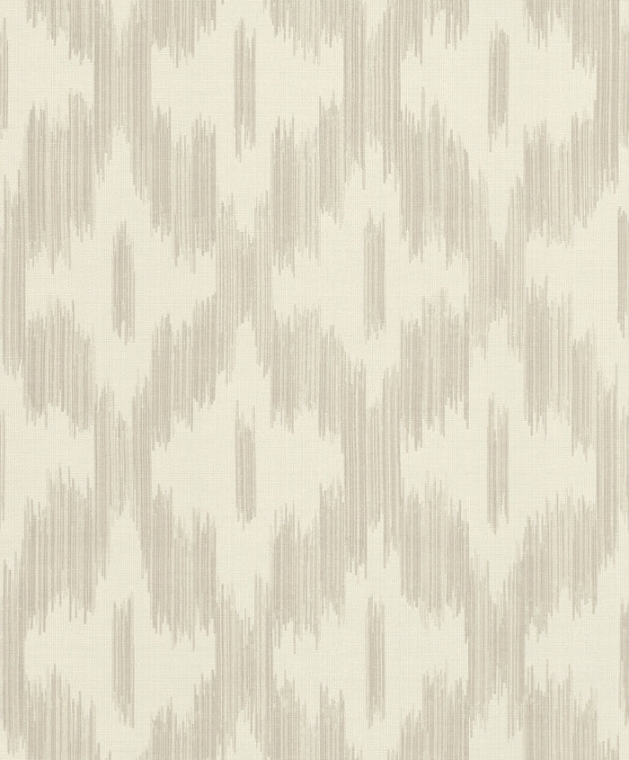 Keller Beige Ogee Wallpaper