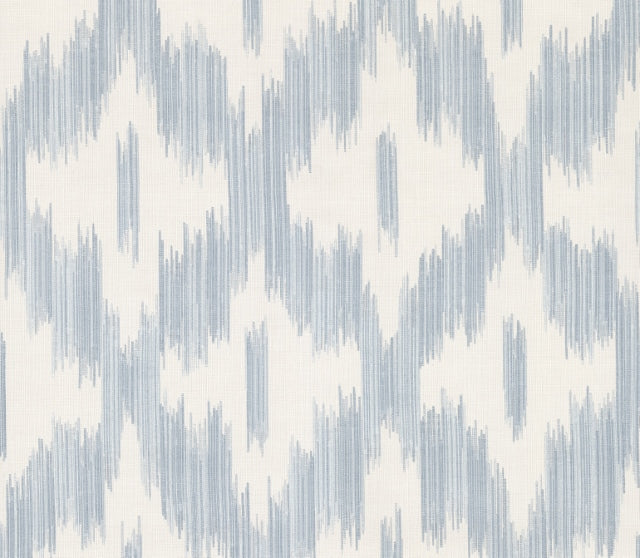 Keller Light Blue Ogee Wallpaper