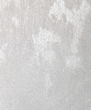 Sanchez Silver Texture Wallpaper-Its brilliant textured design softly shimmers with silver glitter.